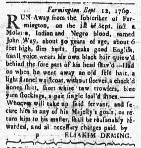 Sep 18 - Connecticut Courant Slavery 1