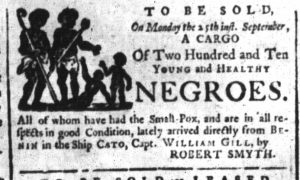 Sep 18 - South-Carolina and American General Gazette Slavery 4