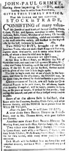Sep 18 - South-Carolina and American General Gazette Slavery 5