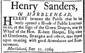 Sep 19 - 9:19:1769 Essex Gazette