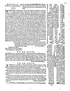 Sep 20 - 9:20:1769 Georgia Gazette