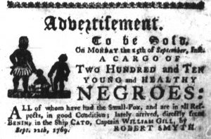 Sep 21 - South-Carolina Gazette Slavery 4