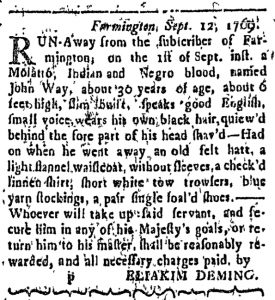 Sep 25 - Connecticut Courant Slavery 1