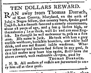 Sep 25 - Pennsylvania Chronicle Slavery 1