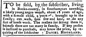 Sep 25 - Pennsylvania Chronicle Slavery 2
