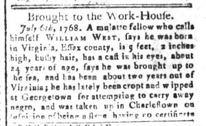 Sep 25 - South-Carolina and American General Gazette Slavery 5