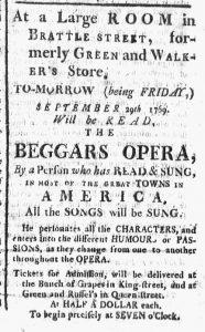 Sep 28 - 9:28:1769 Boston Chronicle