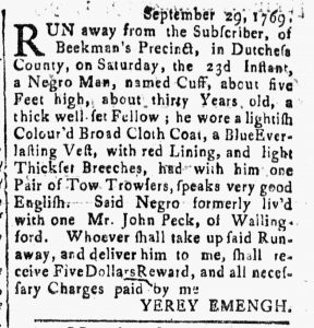 Sep 29 - Connecticut Journal Slavery 1