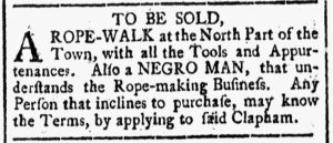 Sep 29 - New-Hampshire Gazette Slavery 1