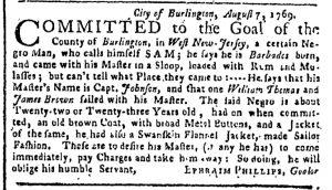 Sep 4 - New-York Gazette or Weekly Post-Boy Slavery 2