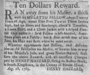 Sep 4 - Newport Mercury Slavery 1