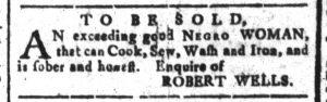 Sep 6 - South-Carolina and American General Gazette Slavery 3