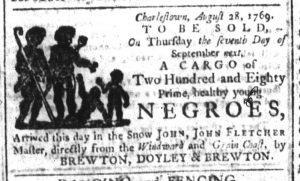 Sep 6 - South-Carolina and American General Gazette Slavery 5