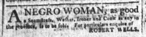 Sep 6 - South-Carolina and American General Gazette Slavery 6