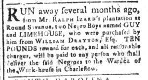 Sep 6 - South-Carolina and American General Gazette Slavery 7