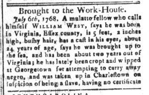 Sep 6 - South-Carolina and American General Gazette Slavery 8