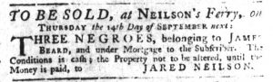 Sep 7 - South-Carolina Gazette Slavery 4