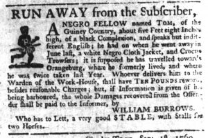 Sep 7 - South-Carolina Gazette Slavery 6