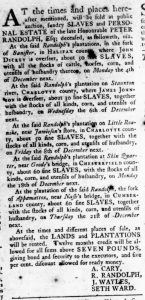 Sep 7 - Virginia Gazette Rind Slavery 3