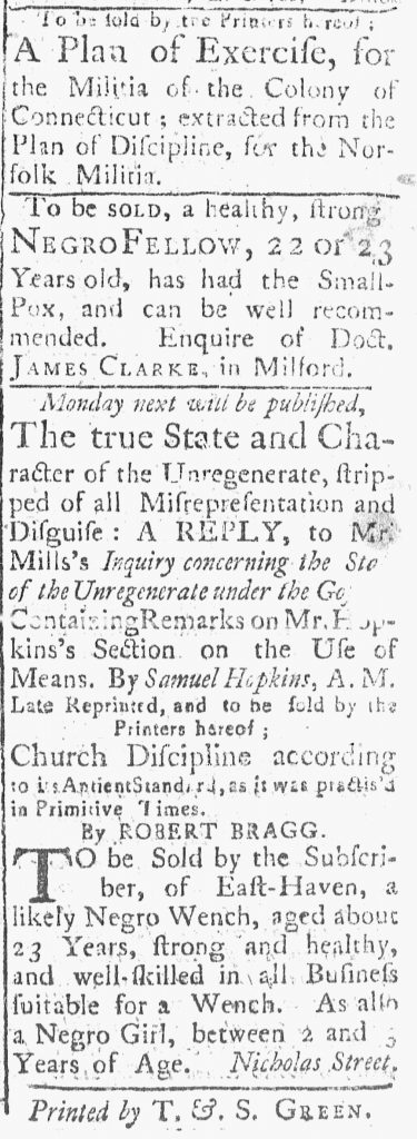 Sep 8 - 9:8:1769 Connecticut Journal