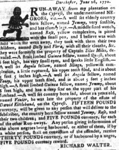 Jul 10 - South-Carolina Gazette and Country Journal slavery 7