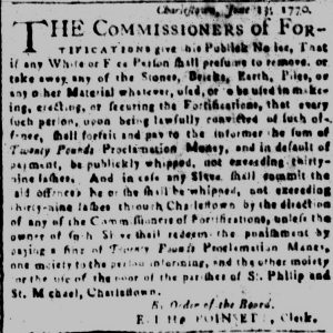 Jul 11 - South-Carolina and American General Gazette slavery 3