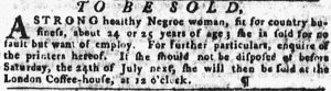 Jul 12 - Pennsylvania Gazette slavery 1