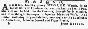 Jul 12 - Pennsylvania Gazette slavery 2