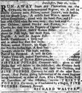 Jul 12 - South-Carolina Gazette slavery 6