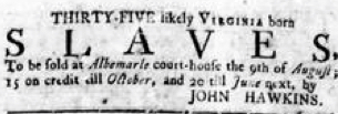Jul 12 - Virginia Gazette Rind slavery 2