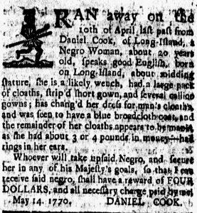 Jul 13 - New-London Gazette slavery 1
