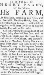 Jul 14 - Providence Gazette slavery 1
