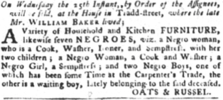 Jul 17 - South-Carolina Gazette and Country Journal slavery 3