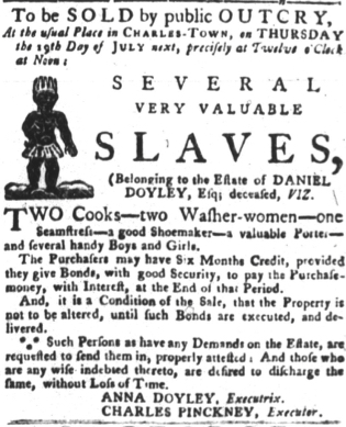 Jul 17 - South-Carolina Gazette and Country Journal slavery 8