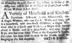 Jul 18 - South-Carolina and American General Gazette slavery 1