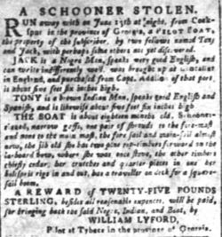 Jul 18 - South-Carolina and American General Gazette slavery 2