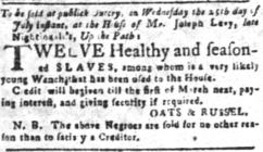 Jul 18 - South-Carolina and American General Gazette slavery 3