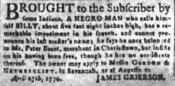 Jul 18 - South-Carolina and American General Gazette slavery 4