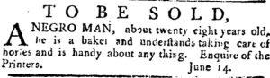 Jul 5 - Pennsylvania Journal slavery 4