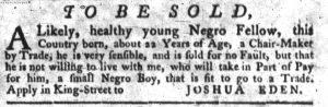 Jul 5 - South-Carolina Gazette slavery 1