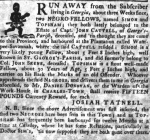 Jul 5 - South-Carolina Gazette slavery 2