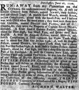 Jul 5 - South-Carolina Gazette slavery 3