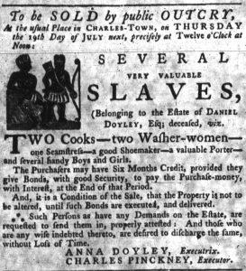 Jul 5 - South-Carolina Gazette slavery 4