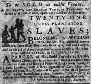 Jul 5 - South-Carolina Gazette slavery 5