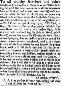 Jul 9 - Boston Evening-Post slavery 1
