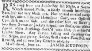 Jul 9 - Boston-Gazette slavery 1