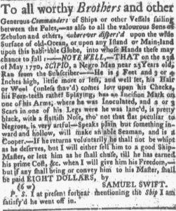 Jul 9 - Boston-Gazette slavery 2