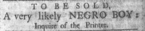 Jul 9 - Newport Mercury slavery 1