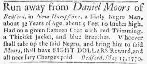 Jun 11 - Boston Evening-Post Slavery 6