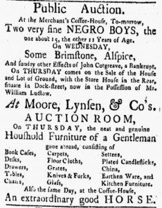 Jun 11 - New-York Gazette and the Weekly Mercury Slavery 3